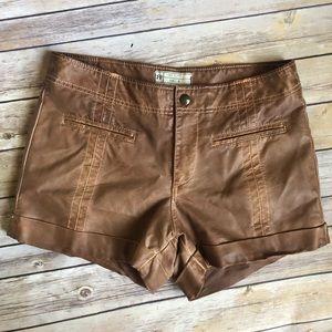 Free People Vegan Shorts